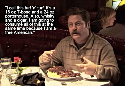 Ron Swanson gets it