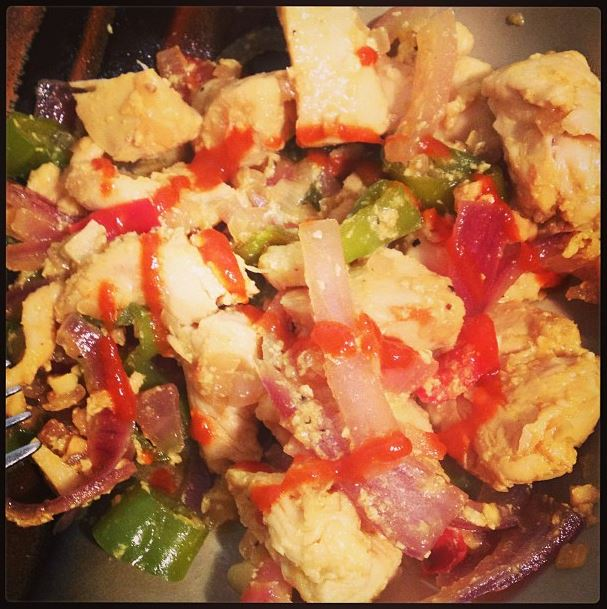 fish sauce chicken stir fry