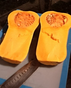 Raw Butternut Squash!