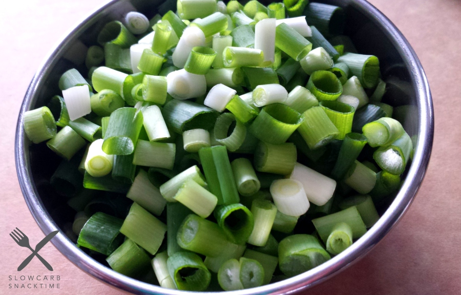 All the scallions!